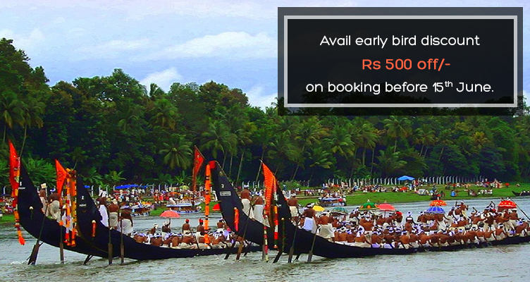 Kerala tour with Nehru Trophy Snakeboat race