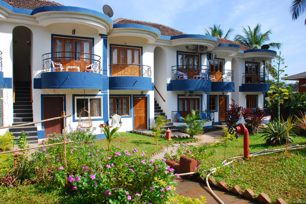Beach With Houseboat